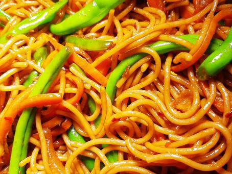 Garlic and Ginger Noodles