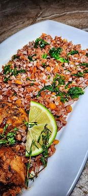 Kale & Red Jasmine Rice