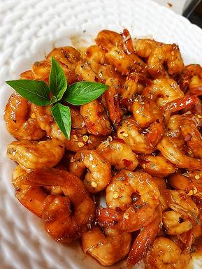 Smokey Honey BBQ Shrimp