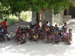 Crianças no orfanato