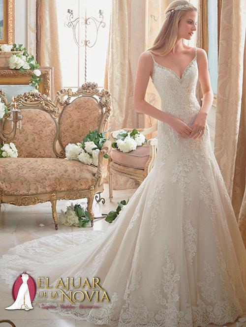 Vestido de novia Nuevo Sirena Alquiler Nuevo