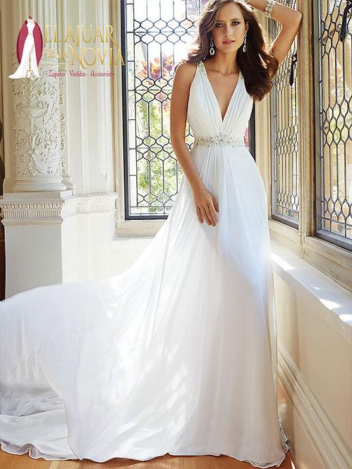 Vestido de novia Corte Imperio Alquiler Nuevo