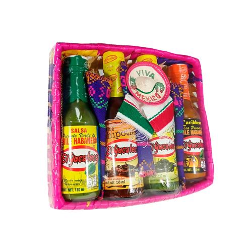 Canasta Yucateca 4 Salsas