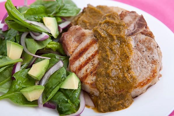 29. Chuletas de cerdo con cilantro.jpg