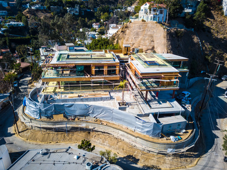 Hollywood Hills Construction (Rough)