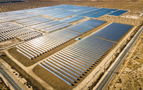 Solar Farm. Palmdale, CA