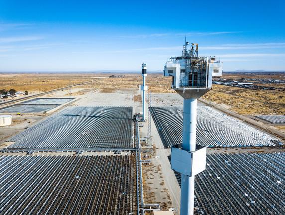 Solar Farm. Lancaster, CA