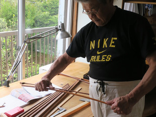 河辺先生の弓制作ドキュメント9