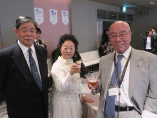 日本インフォメーションの50周年パーティー。