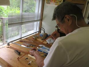 河辺先生の弓制作ドキュメント11