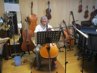 ターヘ楽団の練習会