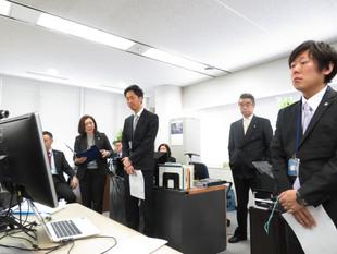 日本インフォメーション、新年会
