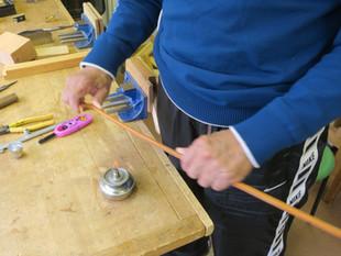 河辺先生の弓制作ドキュメント6