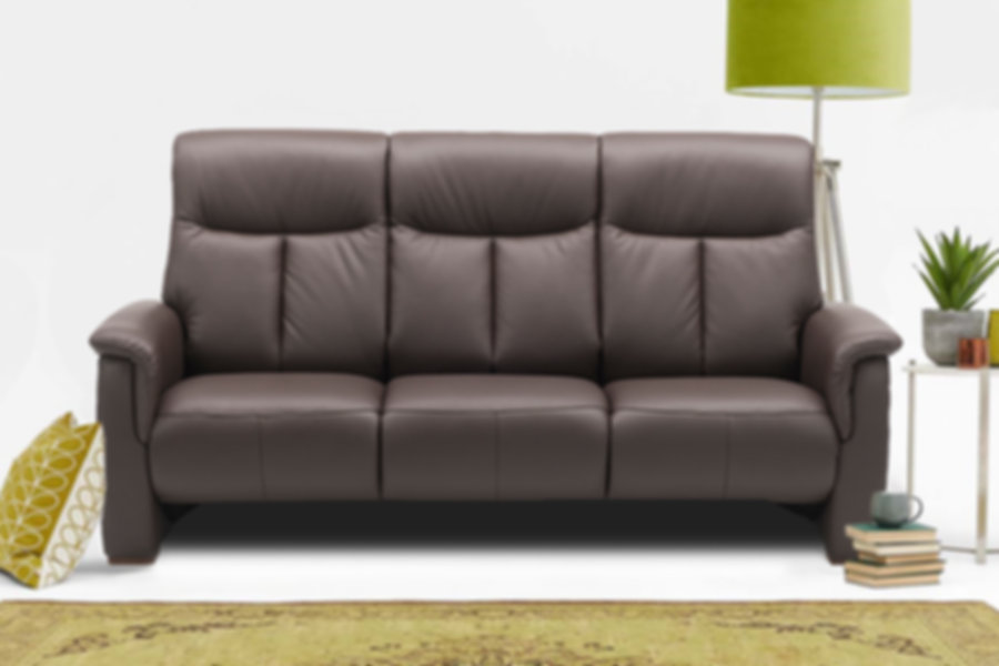 Hjort knudson Aaron Leather Sofa