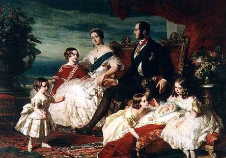 The Royal Family By Franz Xavier Winterhalter