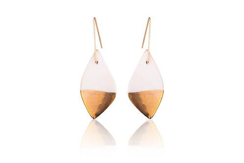 Cybele | Drop White & Gold