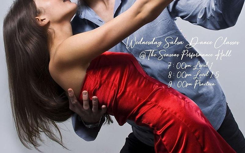 Wednesday Salsa Dance Classes March 2020