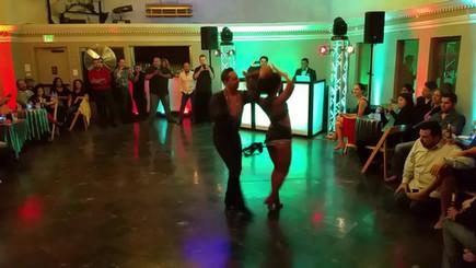 Yasbek Cervantes & Diana Ramirez Salsa Performance