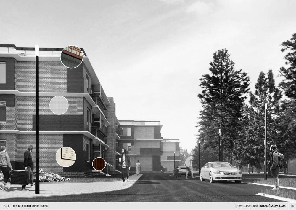 Визуализация: жилой дом