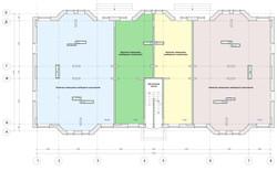 План нежилого первого этажа