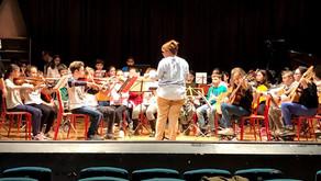 Prima prova d'orchestra classi prime