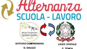 ALTERNANZA SCUOLA LAVORO – Gli studenti dell'Indirizzo Musicale del Liceo C. Tenca entrano nel nostr