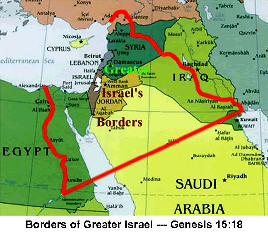 Borders of Greate Israel