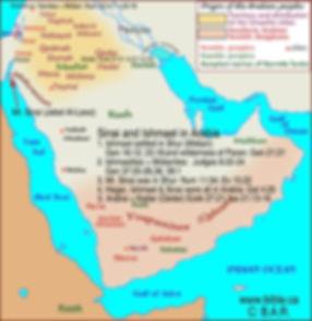 Saini and Ishmael in Arabia