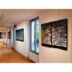 "Exposition d'Arlette Martin-Feysel - ""De fil en aiguille"" - Sept 2021"