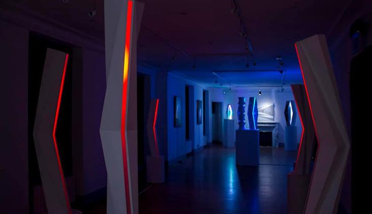 """Exposition de Fabrice Ainaut """"Au rythme des contrastes"""" Septembre 2020"""
