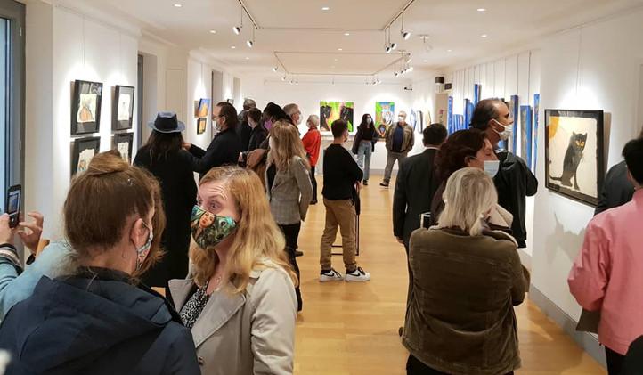 "Exposition de Roxane Depardieu - ""Once upon a time"" - Octobre 2020"