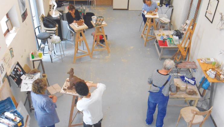 Annexe - Atelier sculpture