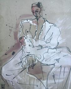 boy in White