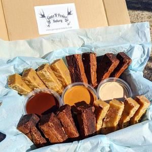 Brownie Fondue Box