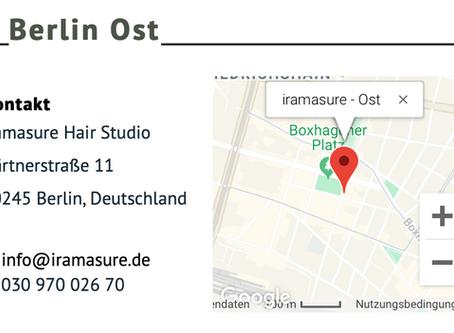 iramasure Berlin East is now opening!