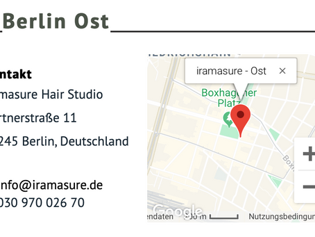 iramasure Berlin East is now opening!