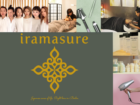 Fresh up! iramasure-website