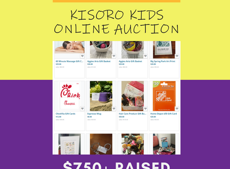 Thank You - Online Auction Fundraiser