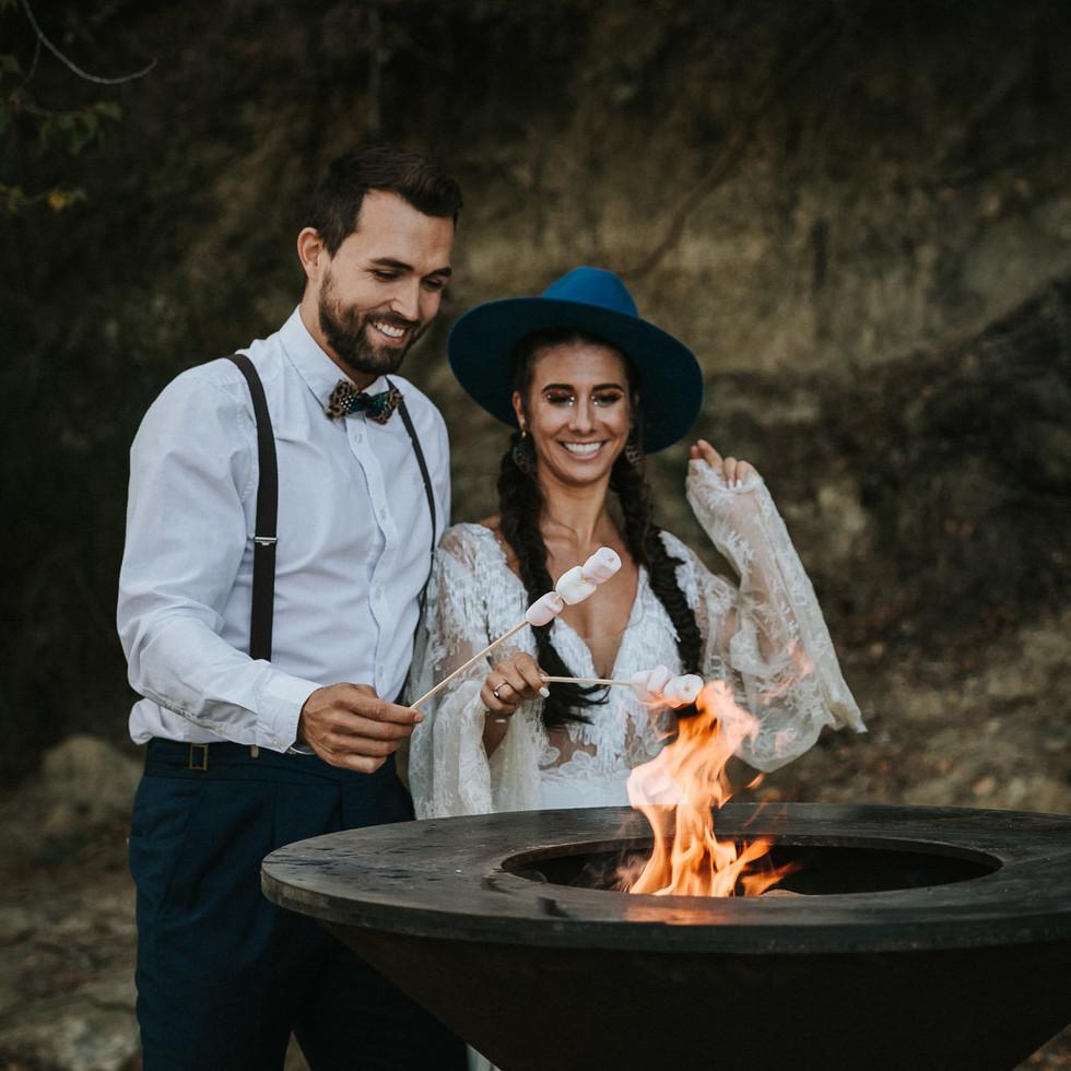 Mariage au lac-