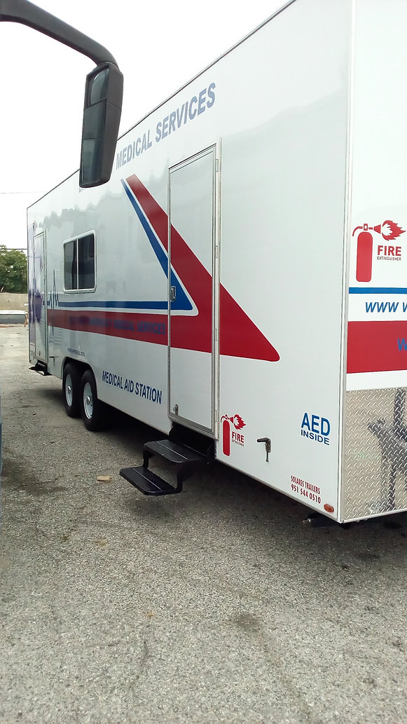 Medical Mobile Trailer Custom Build Trailers Rv Repair