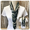 Thumbnail: Teal and Green Multi Strand Scarf necklace
