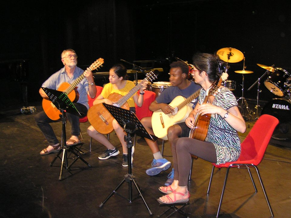 Ensemble guitares