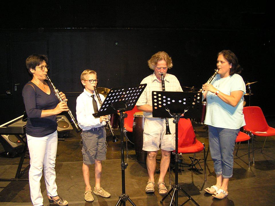 Ensemble clarinettes