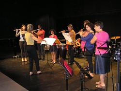 Ensemble flûtes traversières
