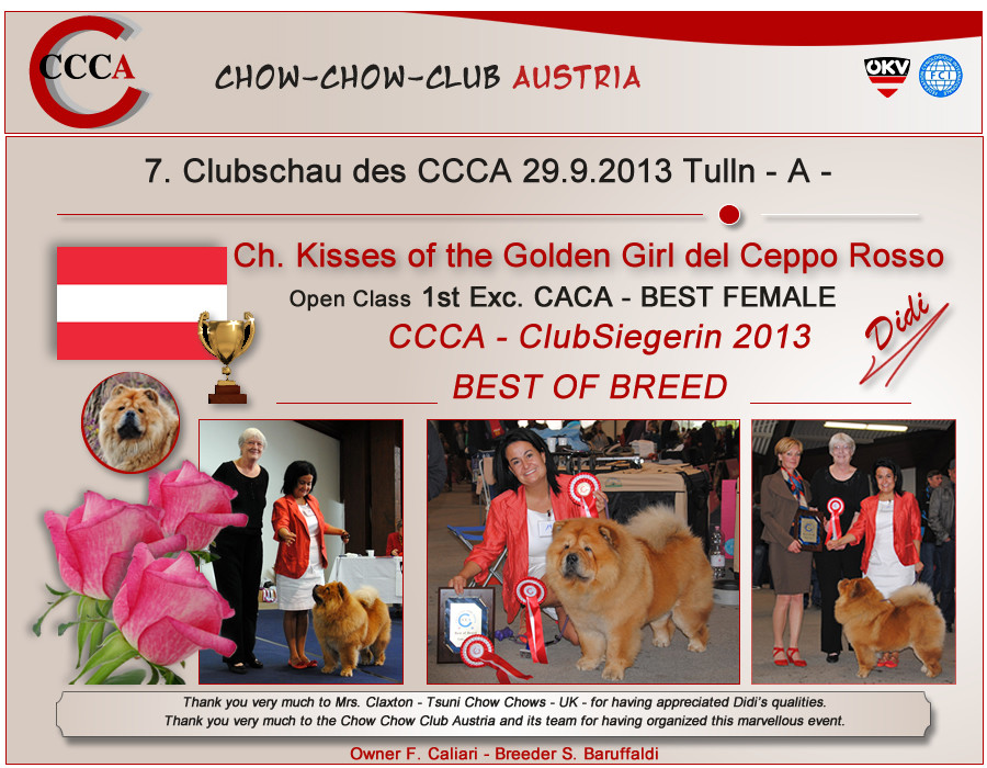 Tulln (A) - CCCA Club Winner BOB