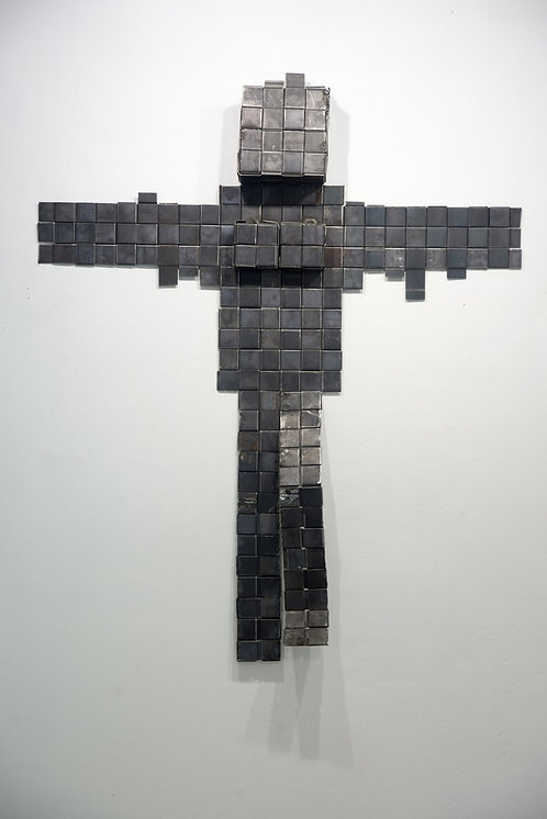 The crucified man