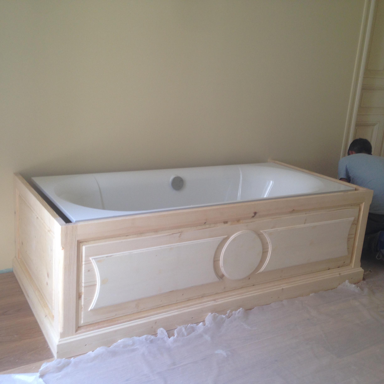 Cache baignoire brut