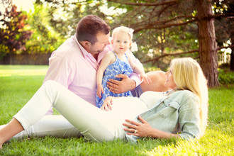 Joe and Annie Thomas Cleveland Browns Maternity Session Elizabeth Marie Photography