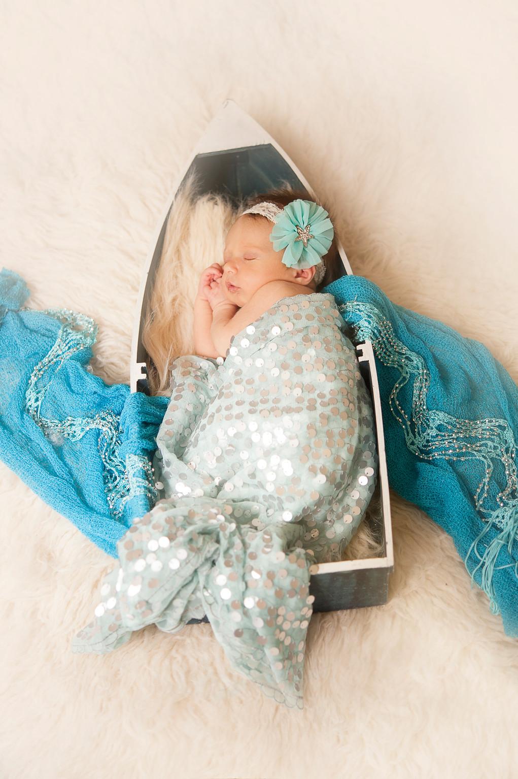 Mermaid Newborn Session