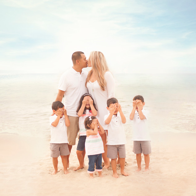 Beach Family Session CLE